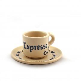 Espressotasse inkl. Untertasse